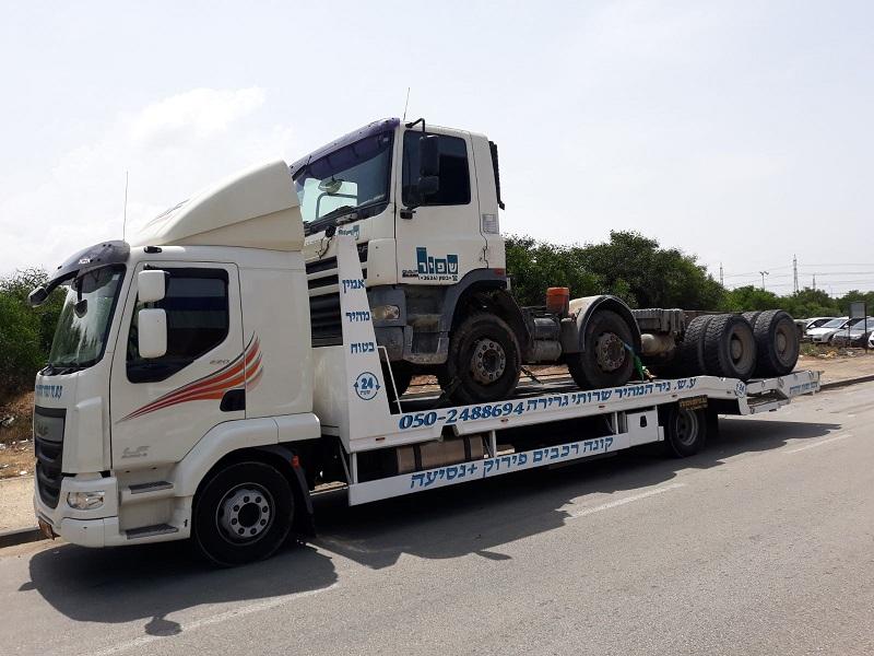 חילוץ משאיות בדרכים